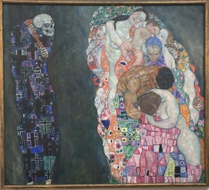 "Klimt's ""Death and Life"""