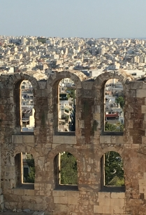 Seeing Athens through the ruins
