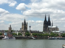 View of downtown Cologne