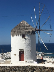 One of the island's windmills
