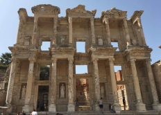 View of Celsus Library