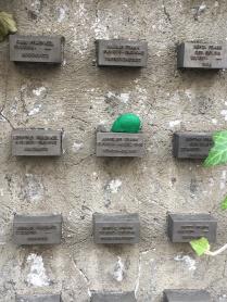Jewish Memorial Wall